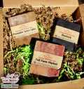 Vegan Soap Gift Set | Artisan Handmade Natural Cold Processed with Shea Butter & Olive Oil | Hand Made Body Soap Bars, Cruelty Free Homemade