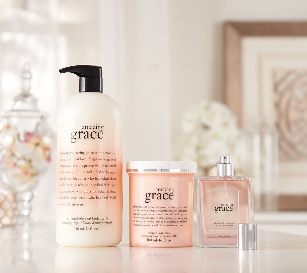 image of philosophy amazing grace fragrance and personal care products