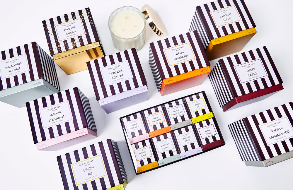 image of henri bendel candle collection