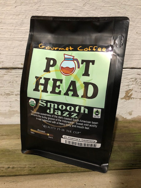 "Jo Mama's Coffee - ""Pot Head"""