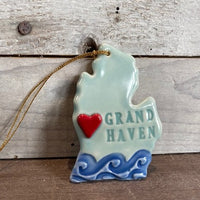 Grand Haven Michigan Christmas Ornament