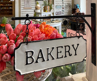 Metal Bakery Bracket Sign