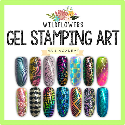 Gel Stamping - Wildflowers Master Artist Class