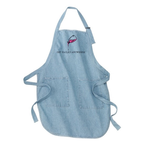 """Get Nailed Anywhere"" Aprons"