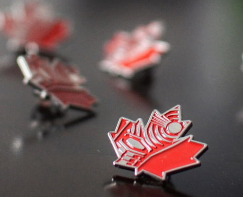 CANADA GOT SOLE SOLEAF ENAMEL PIN