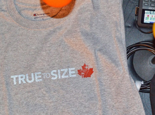 Load image into Gallery viewer, 'TRUE TO SIZE' CHAMPION T-SHIRT GREY 3M