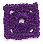 Crochet Motif 3: Circle in the Square