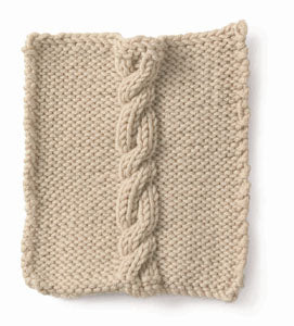 Knitting: Cable: Cruller