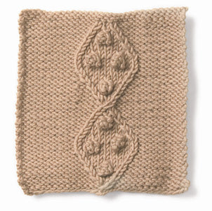 Knitting: Cable: Diamonds and Pearls