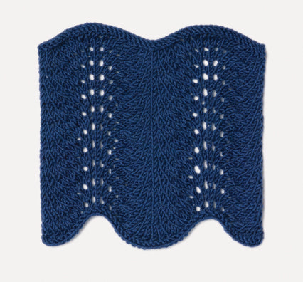 Knit Lace: Feather and Fan