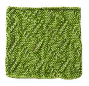 Knitting Pattern: Leaves of Grass