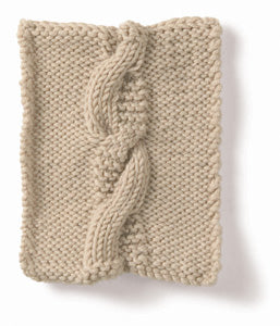 Knitting: Cable: Opposites Attract