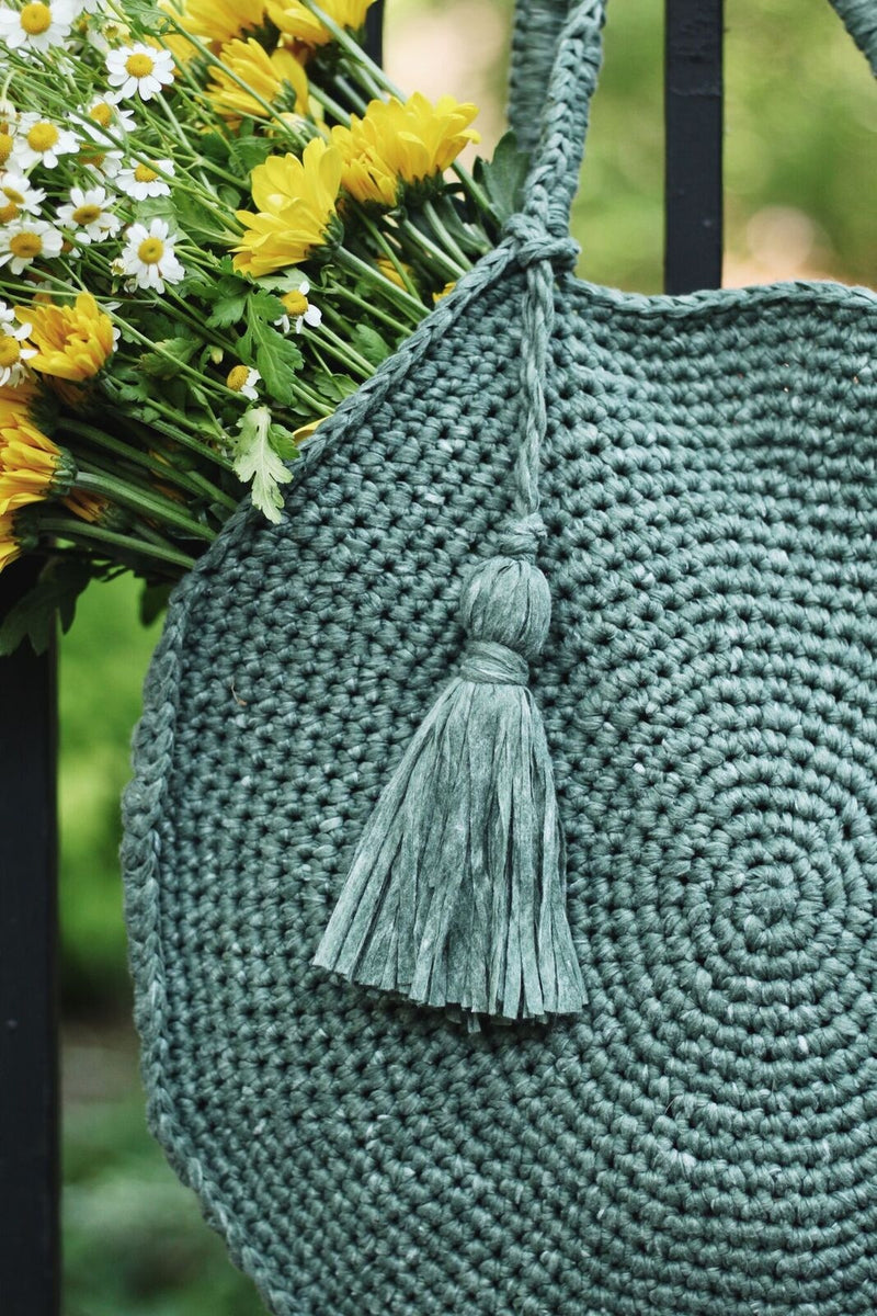 Crochet Kit - Capri Circle Bag