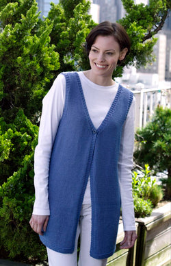 Everyday Long Vest Pattern (Knit)