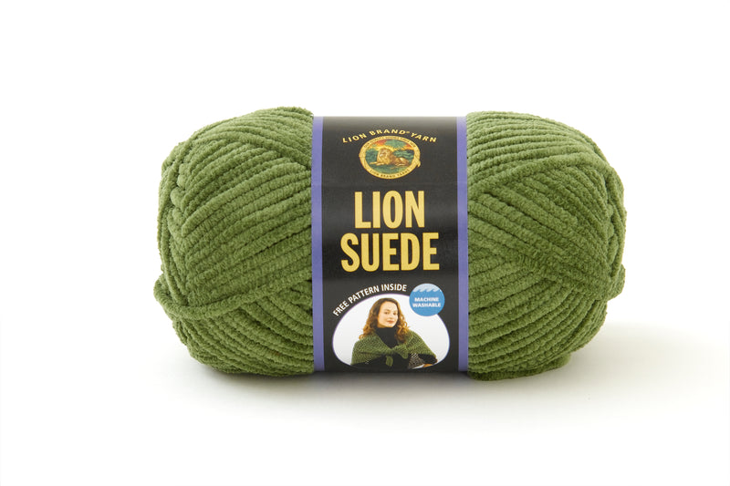 Lion Suede Yarn - Discontinued