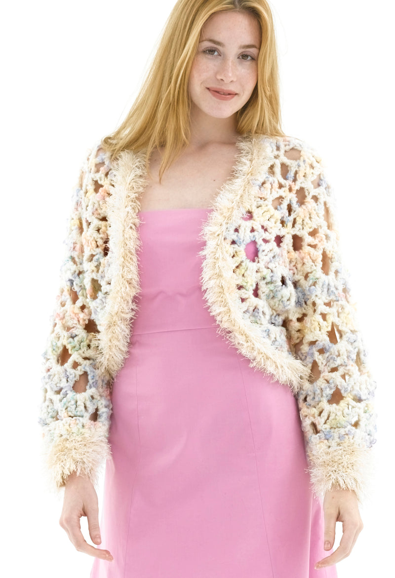 Heavenly Bolero Pattern (Crochet)