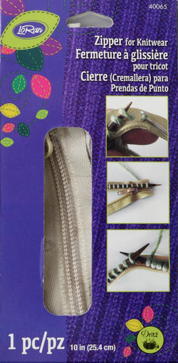 Zipper for Knitwear