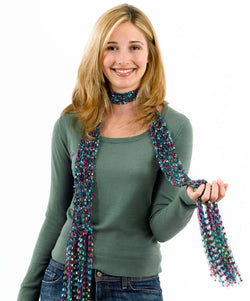 Lacy Quick Knit Scarf Pattern (Knit)