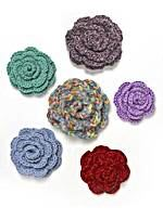 Crocheted Rosettes (Crochet)
