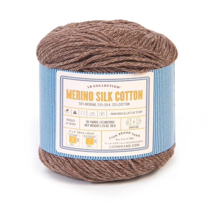 LB Collection® Merino Silk Cotton Yarn