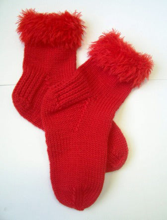 Valentine Socks Pattern (Knit)