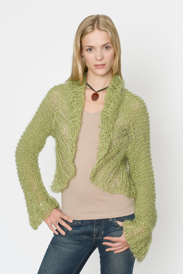 Spring Fresh Shrug Pattern (Knit)