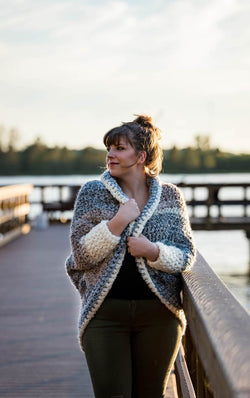 Crochet Kit - The Crochet Cuddler Cocoon Sweater