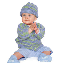 Seven Seas Baby Set Pattern (Knit)