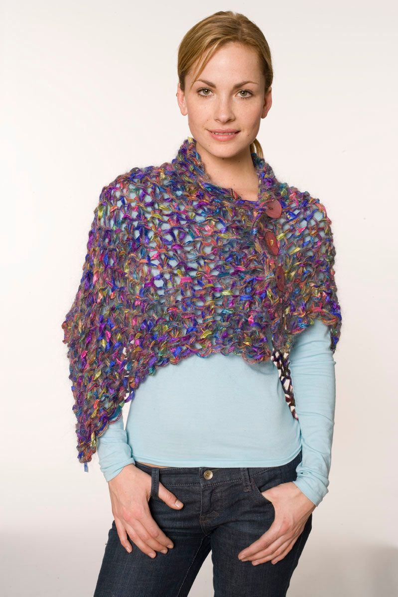 Buttoned up Wrap Pattern (Knit)