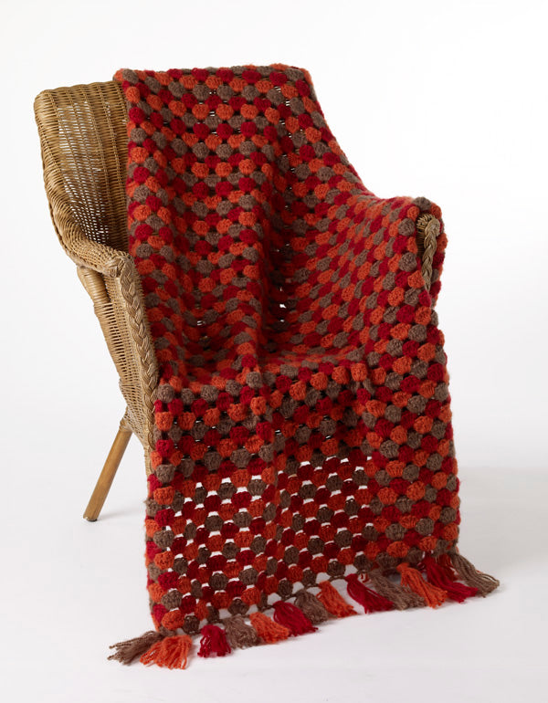 Spicy Delights Afghan Pattern (Crochet)