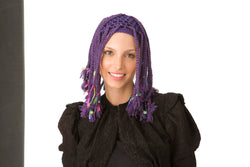 Purple Braids Wig Pattern (Crochet)