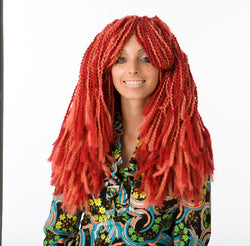 Wild Wild Red Wig Pattern (Crochet)
