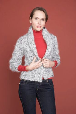 Shawl Collar Sweater Pattern (Knit)