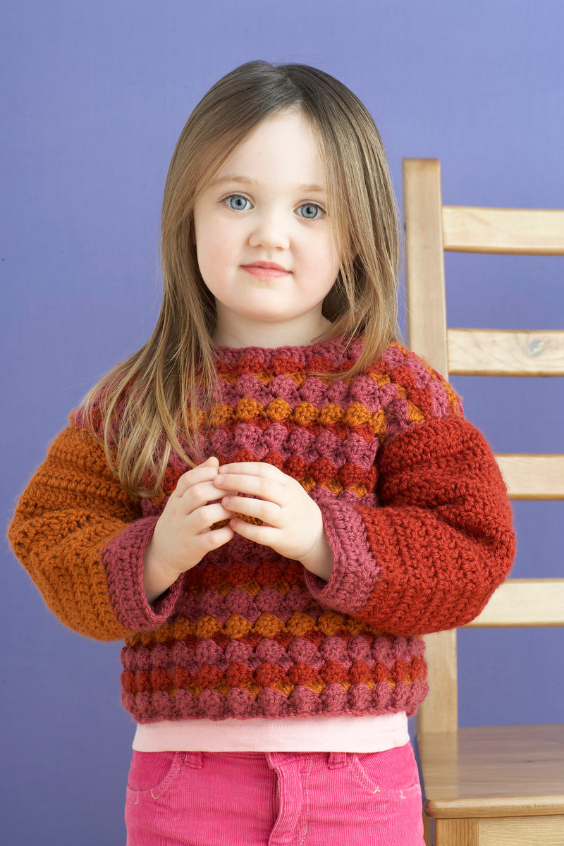 Croton Baby Sweater Pattern (Crochet)