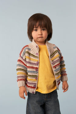 Standout Stripes Cardigan (Knit)