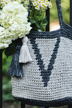 Crochet Kit - Verona Basket Tote