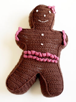 Gingerbread Person (Crochet)