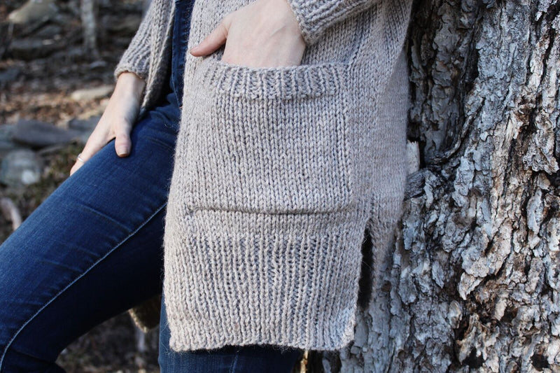 Knit Kit - Lillian Cardigan