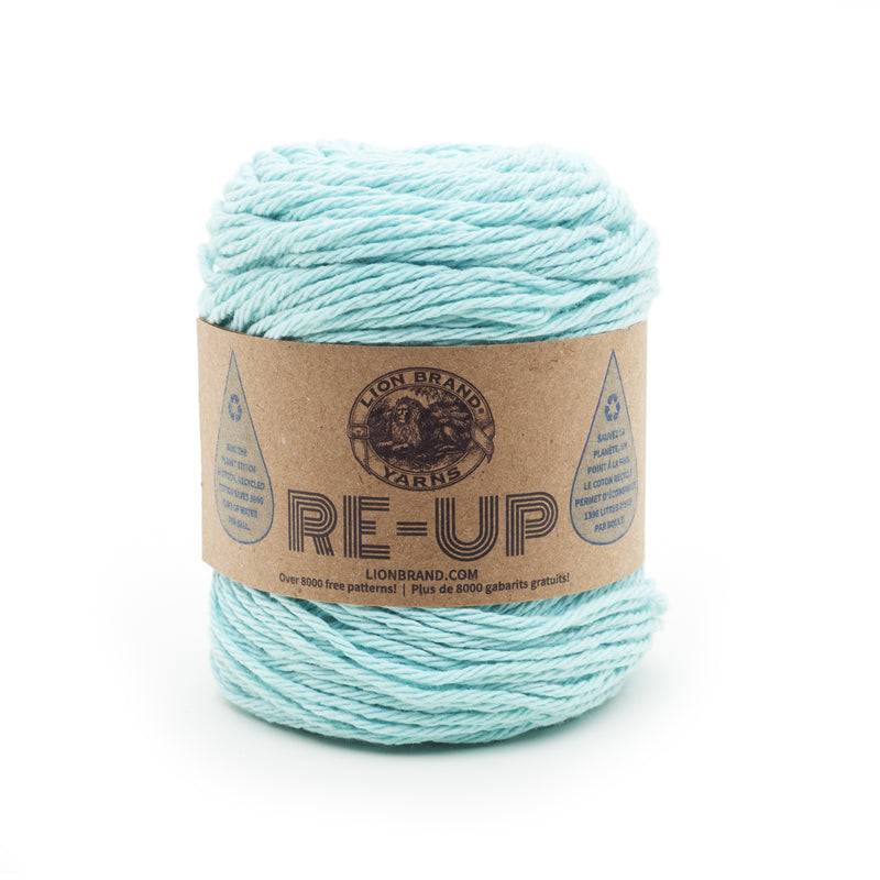 Lion Brand Yarn Re-Up-Denim