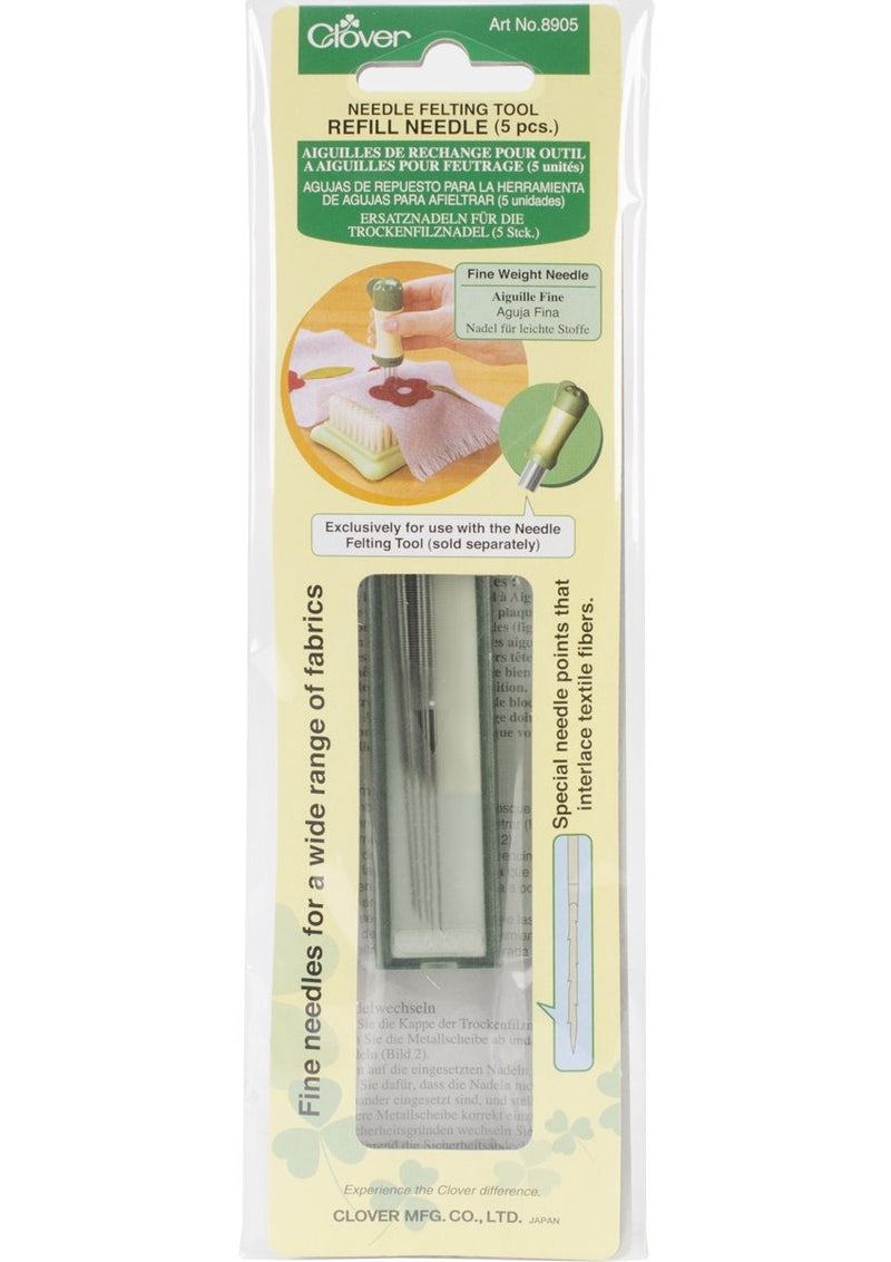 Needle Felting Tool Refill Needle - Fine Weight