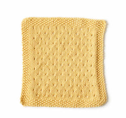 Orient Point Washcloth Pattern (Knit)