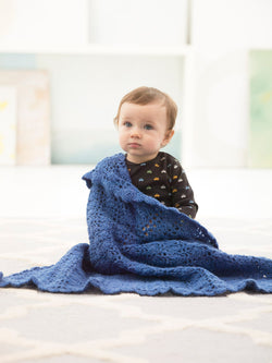 Dreamy Lace Baby Throw (Crochet)