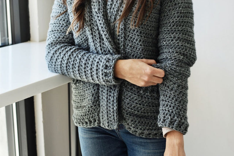 Crochet Kit - Harold Cardigan