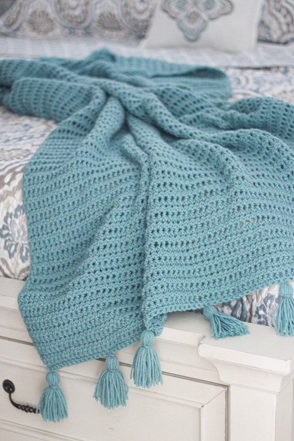 Crochet Kit - Sea Breeze Blanket