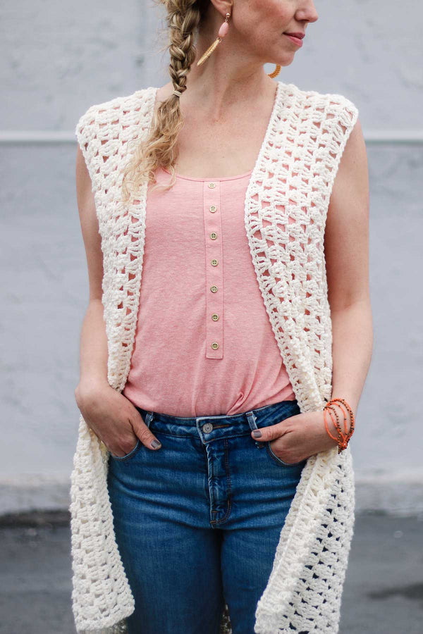 Crochet Kit - Evermore Vest