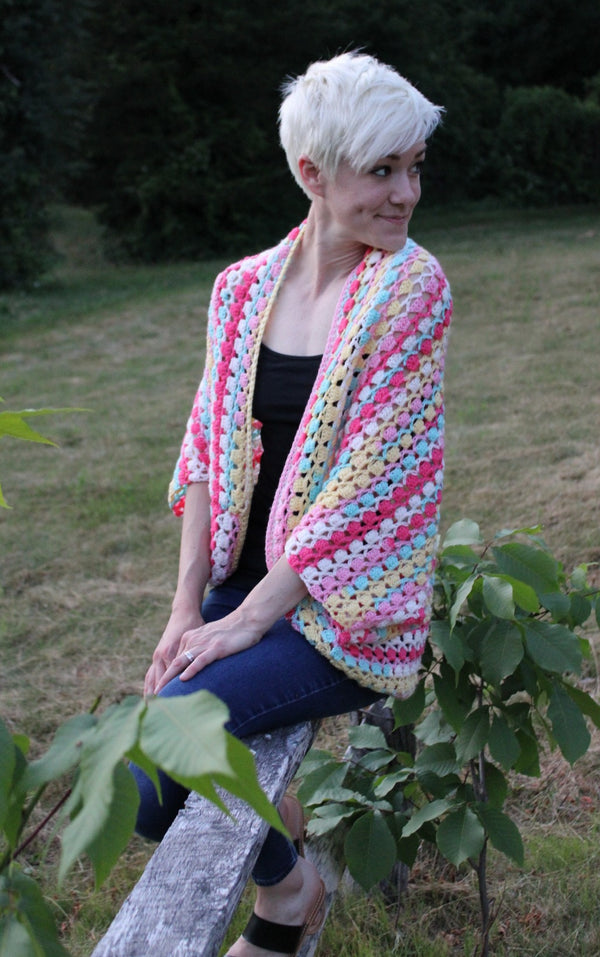 Crochet Kit - Shine Your Light Shrug