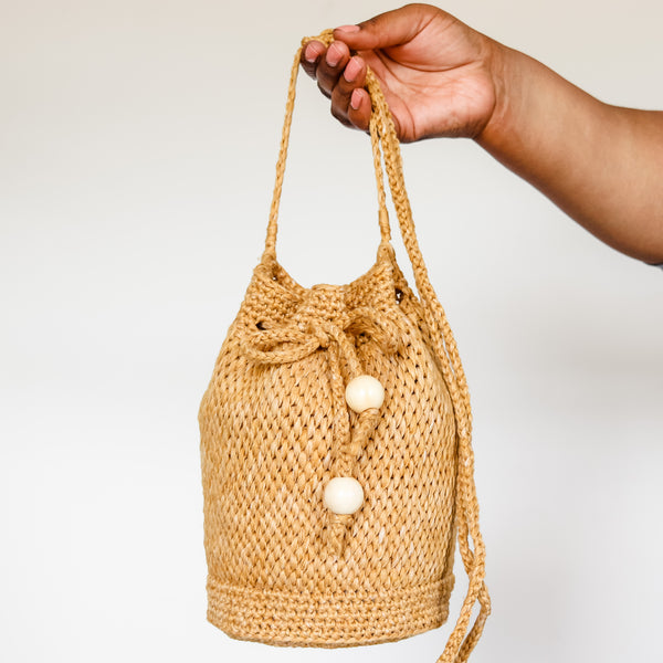 Crochet Kit - Harper Bucket Bag