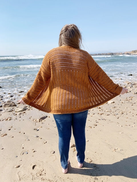 Crochet Kit - The Home Town Cardi