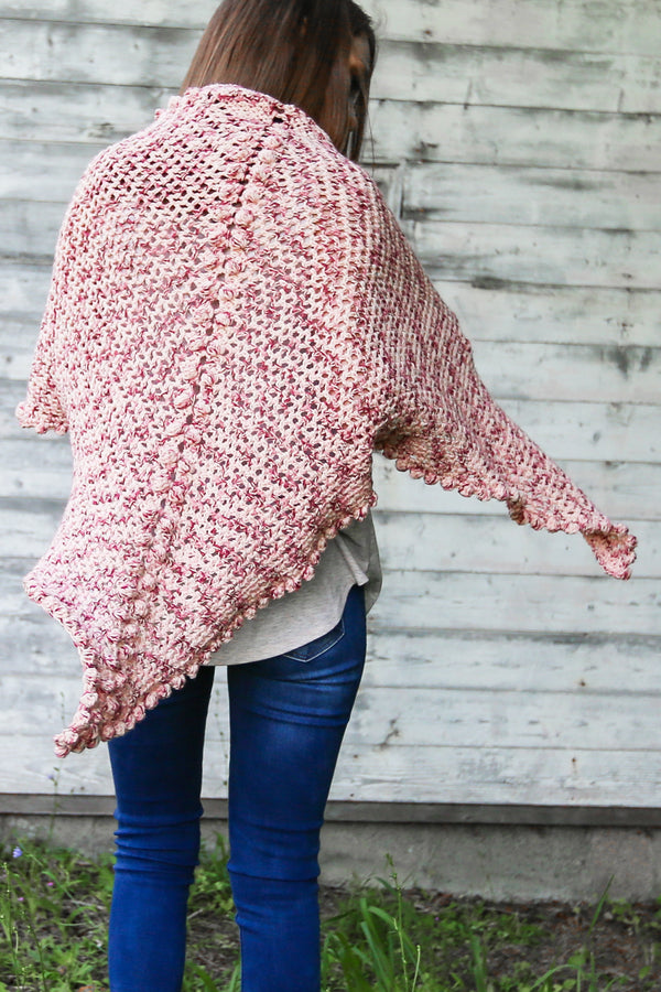 Crochet Kit - Comfy Crochet Cotton Shawl