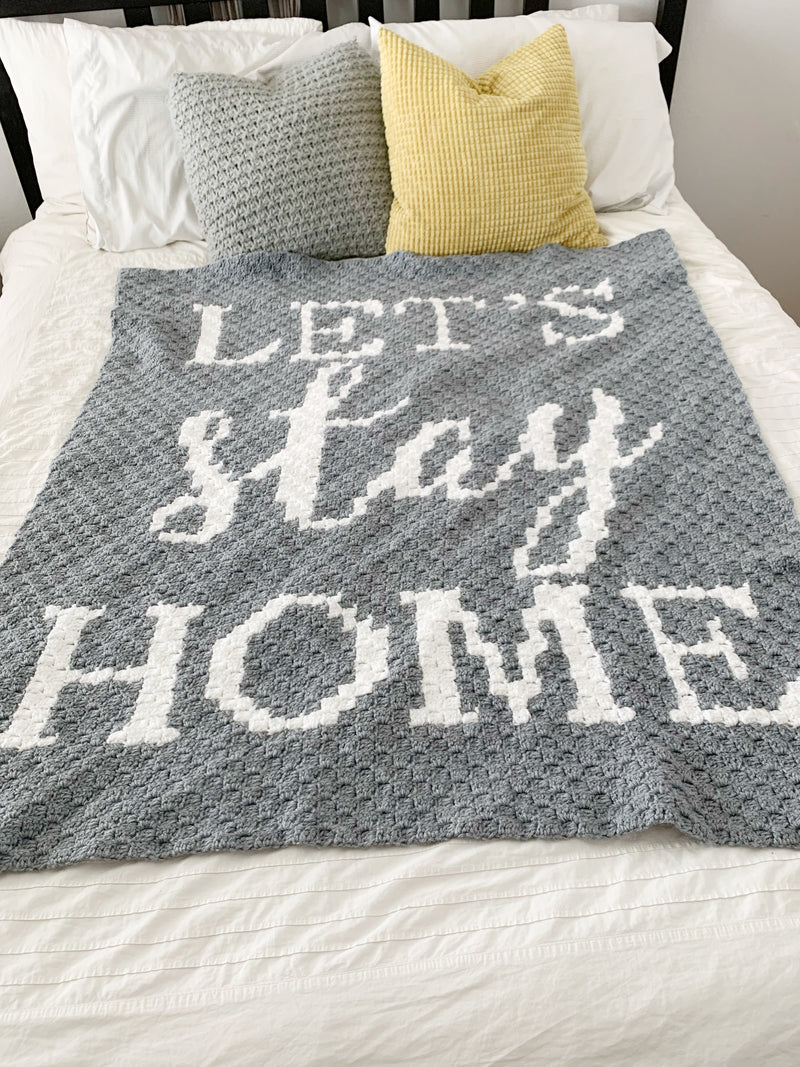 Crochet Kit - Let's Stay Home Graphgan